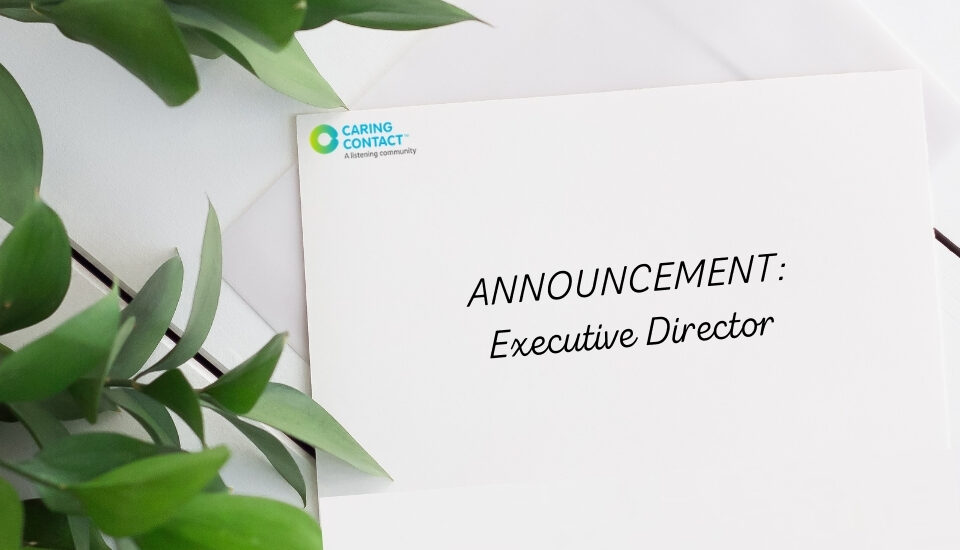 executive director for Caring Contact